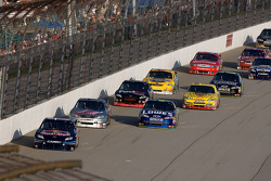 Brian Vickers, Red Bull Racing Team Toyota and Scott Speed, Red Bull Racing Team Toyota lead the field
