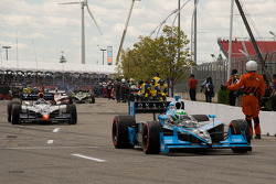 Tomas Scheckter, Dreyer & Reinbold Racing heads to pace laps