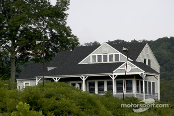 Lime Rock Park outfield chalet