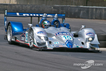 #15 Lowe's Fernandez Racing Acura ARX-01B Acura: Adrian Fernandez, Luis Diaz