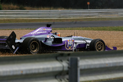 #8 Anderlecht Zakspeed: Yelmer Buurman, with fallen-off rear wings
