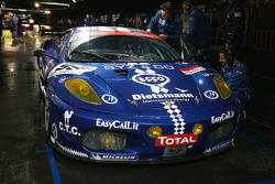 #99 JMB Racing Ferrari F430: Maurizio Paolo Basso, Peter Kuteman, John Hartshorne, Stéphane Daoudi