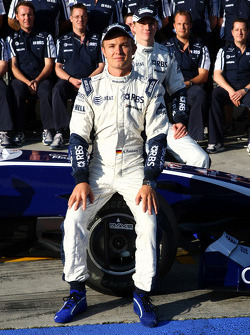 WilliamsF1 team photo, Nico Rosberg, WilliamsF1 Team