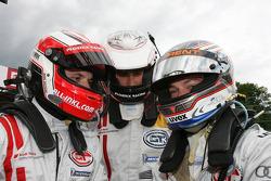 Marc Basseng, Phoenix Racing, Audi R8 LMS, Henri Moser, Phoenix Racing, Audi R8 LMS, Alexandros Margaritis, Phoenix Racing, Audi R8 LMS
