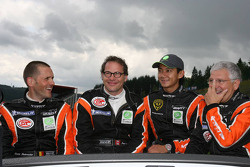 Vincent Radermeker, Ho-Pin Tung, Loris de Sordi, Jacques Villeneuve