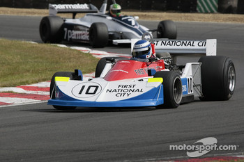 Rodrigo Gallego, March 761, Joaquin Folch, Brabham BT49