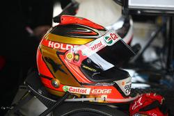 Russell Ingall's helmet
