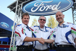 Press conference where Ian Slater, Vice President of Communications and Public Affairs, Ford of Europe announced a new two-year agreement with M-Sport which sees Ford stay in the WRC for 2010 and 2011
