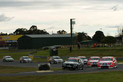 Rick Kelly takes the lead