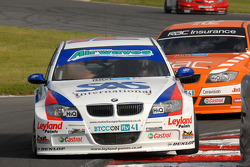 Jonny Adam leads Colin Turkington