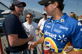Jacques Villeneuve and Andrew Ranger