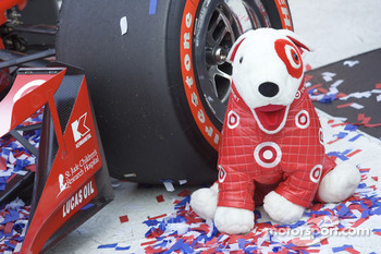 Victory lane: mascot