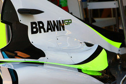 Brawn GP Engine cover
