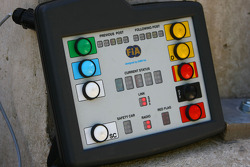 FIA Electronic flag system, control panel