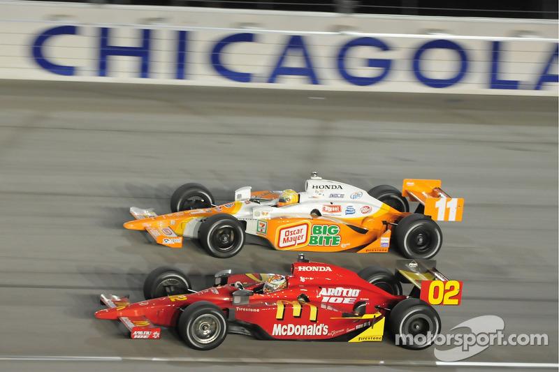Graham Rahal, Newman/Haas/Lanigan Racing and Tony Kanaan