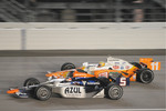 Tony Kanaan, Andretti Green Racing and Mario Moreas, KV Racing Technology
