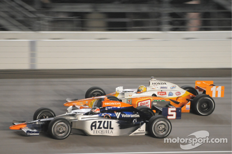Tony Kanaan, Andretti Green Racing and Mario Moreas, KV Racing Technology