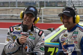 Carl Edwards and Marcos Ambrose speak live on ESPN