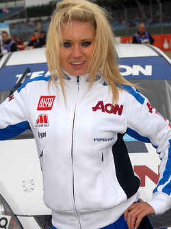 Tom Onslow-Cole's Grid Girl