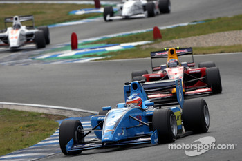Armaan Ebrahim leads Robert Wickens