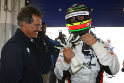 Dr. Mario Theissen, BMW Sauber F1 Team, BMW Motorsport Director and Jorg Muller,  BMW Team Germany, BMW 320si