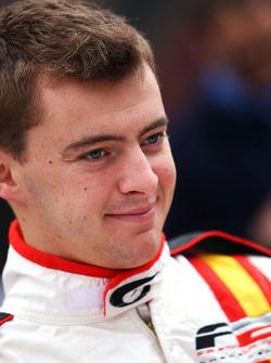 German Sanchez during the F2 driver autograph session