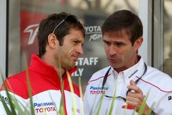 Jarno Trulli, Toyota F1 Team, Pascal Vasselon, Toyota F1 Team, Senior General Manager Chassis