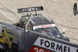 Crash, Timo Scheider, Audi Sport Test car