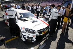 Esteban Ocon, Mercedes-AMG Team ART, Mercedes-AMG C 63 DTM DTM in the starting grid