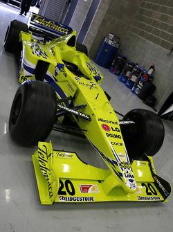 A non-starter; F1 Minardi Fondmetal