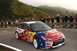 Sébastien Loeb and Daniel Elena, Citroen Total World Rally Team Citroen C4