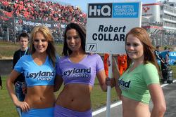 Rob Collard's grid girls