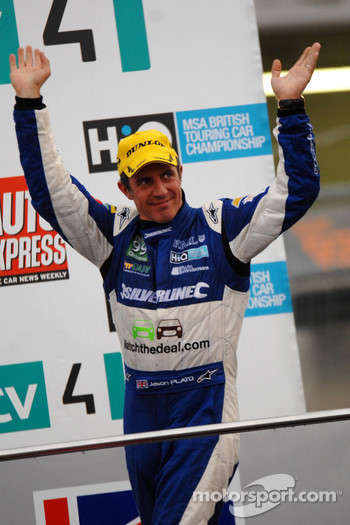 Race Winner Jason Plato