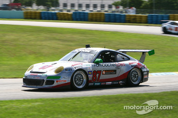 #87 Farnbacher Loles Racing Porsche GT3: Leh Keen, Dirk Werner