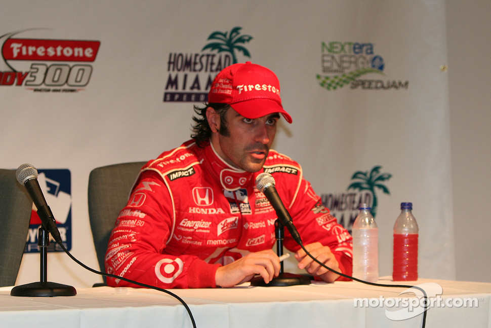 Championship winner Dario Franchitti, Chip Ganassi Racing