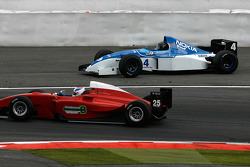 Spinning, #4 Abba Kogan, Fuchs Oil, F1 Tyrrell 023 Yamaha; #25 Karl-Heinz Becker WS Dallara Nissan