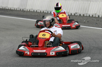 Go-kart event: Allex Crivelle