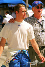 Greg Moore with dad Ric