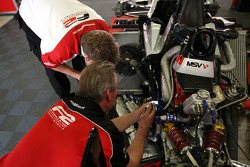 F2 mechanic at work