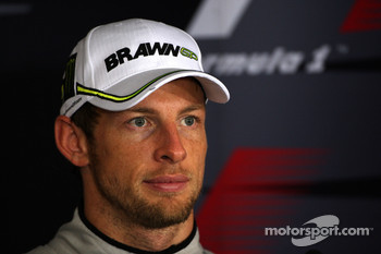 Post-race press conference: Jenson Button, BrawnGP