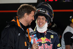 Group A: Jenson Button and Sebastian Vettel