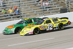 Brian Vickers and Morgan Shepherd