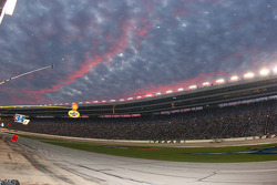A beautiful sunset over Texas Motor Speedway