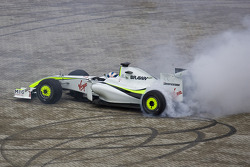 Anthony Davidson Brawn Gp demo