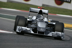 Mercedes Grand Prix Concept Car: photo of the Brawn GP car with a computer generated Mercedes Grand Prix livery for the 2010 season