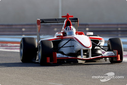 Bernard Romain test drives the new GP3 Series car
