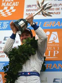Podium: second place Jean-Karl Vernay, Signature