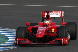 Jules Bianchi, Tests for Scuderia Ferrari