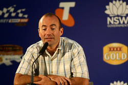 Press conference: Australian NASCAR driver Marcos Ambrose