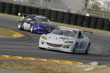 #40 Dempsey Racing Mazda RX-8: Patrick Dempsey, Joe Foster, James Gue, Don Kitch